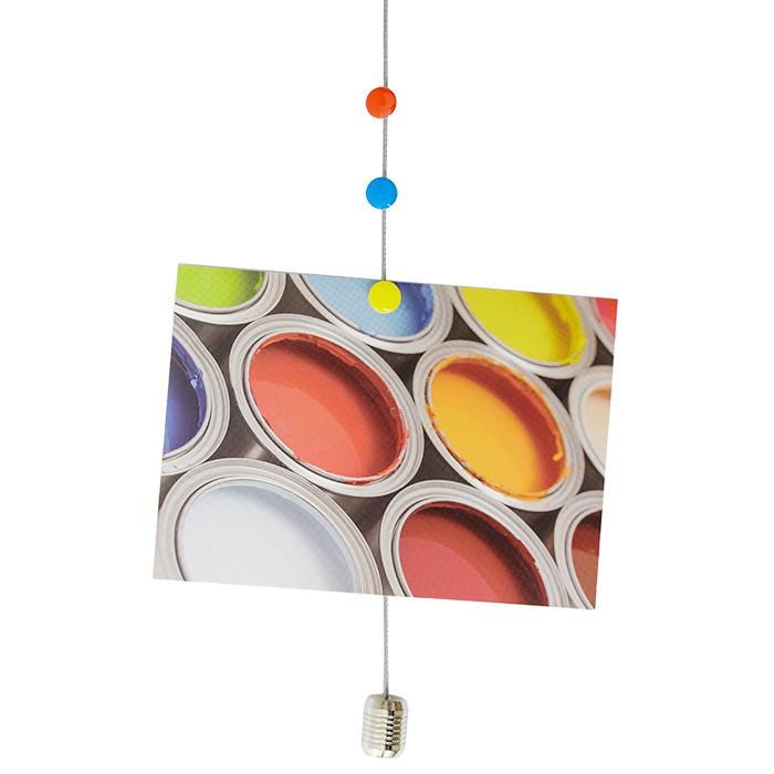 Cuerda de foto para fotos dots con accesorio magn tico con - Mosquiteras con imanes ...